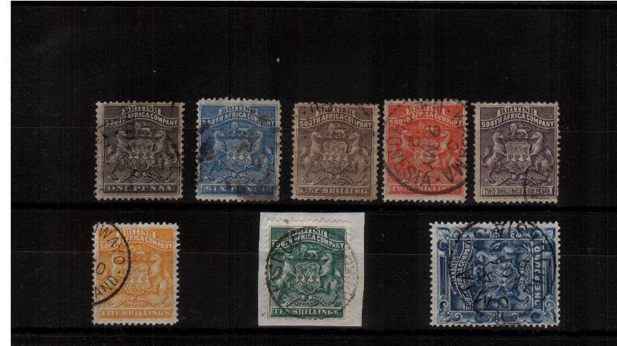 The first set of ten with servral cancelled with a crisp CDS cancel. SG Cat �0 