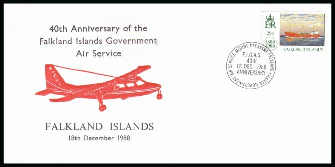 40th Anniversary of Government Air Service<br/>