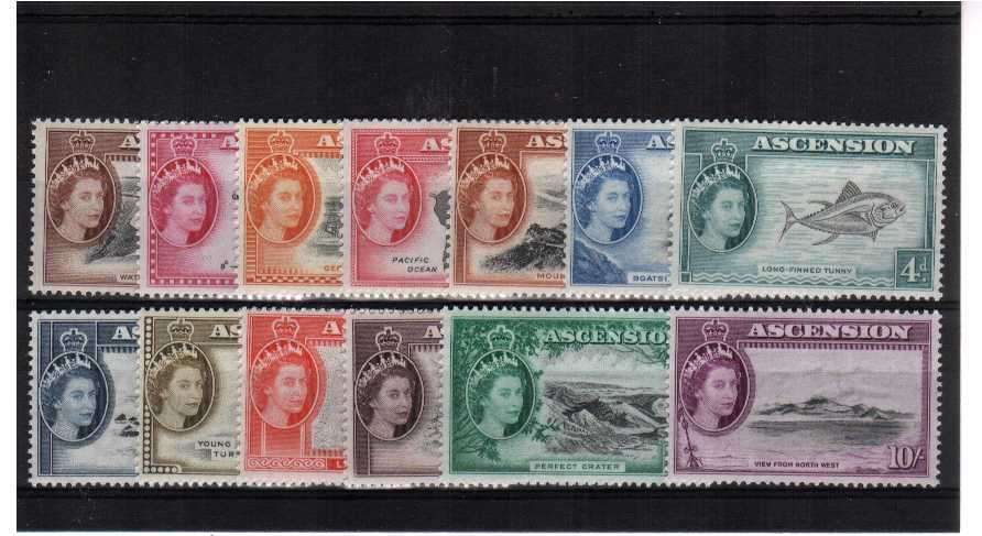 A superb unmounted mint set of thirteen.<br/><b>QFQ</b>