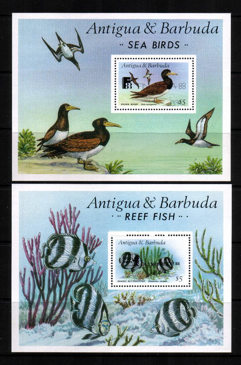 Tern Birds - With overprints<br/>
