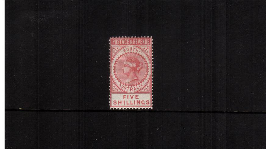 5/- Rose-Carmine Perf 11�-12�br/>