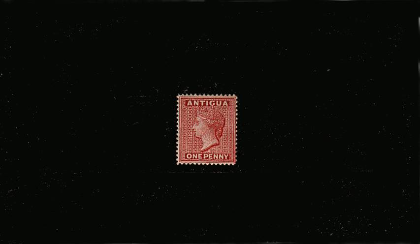 1d Carmine-Red - Watermark Crown CA - Perforation 14<br/>