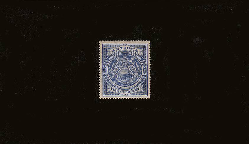 2½d Blue - Watermark Multiple Crown CA<br/>