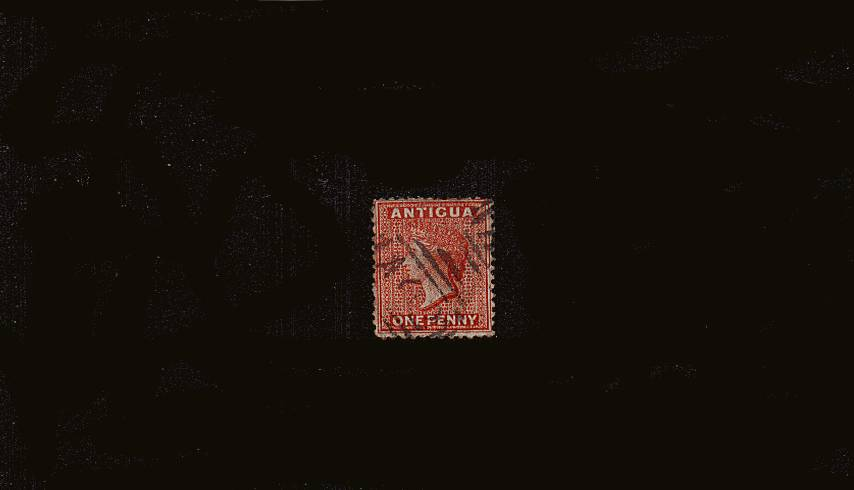 1d Scarlet - Watermark Crown CC - Perforation 12�br/>