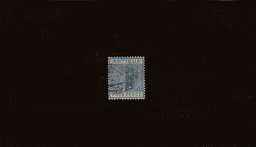 4d Blue - Watermark Crown CA - Perforation 14<br/>