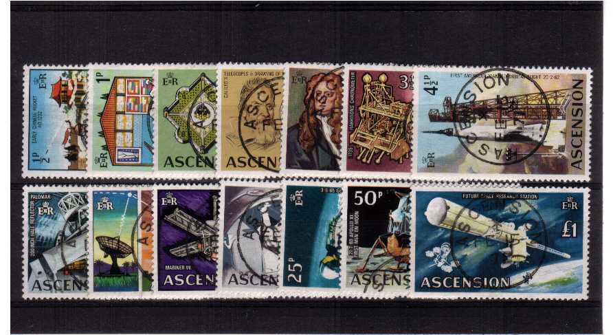Space - A superb fine used set of fourteen.