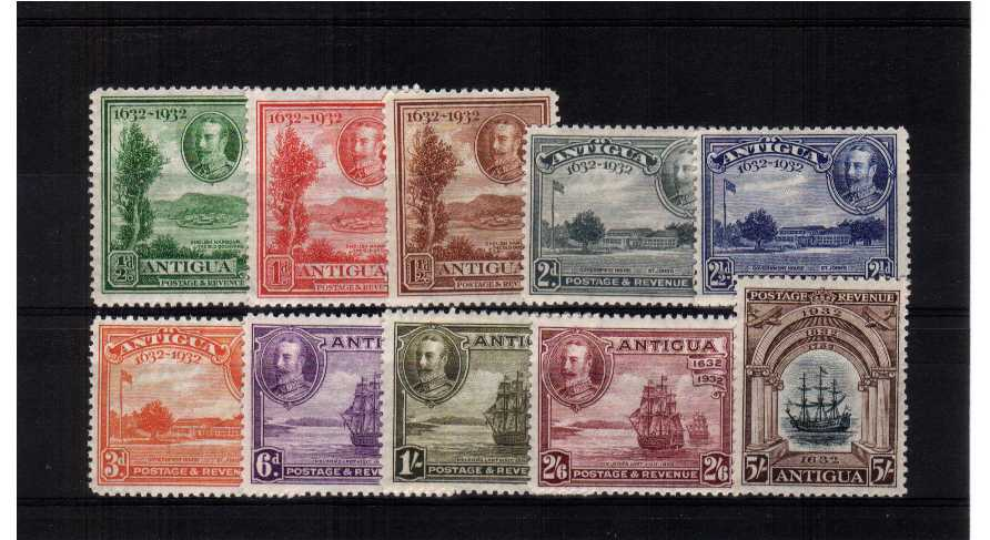 A fine very lightly mounted mint Tercentenary set of ten with some being unmounted mint.<br><b>ZKW</b>